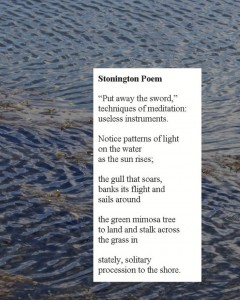 Stonington Poem
